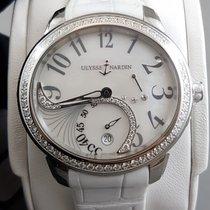 Ulysse Nardin JADE Stainless steel and diamonds Date watch