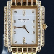 "Patek Philippe Lady's 18K Yellow Gold Diamond ""Gondolo..."