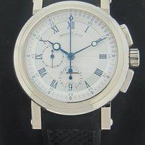Breguet Marine Chronograph 18k White Gold 5827BB
