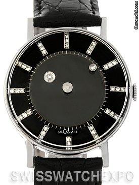 Jaeger-LeCoultre Vacheron Constantin Galaxy Mystery Dial 14k White Gold Diamond Watch