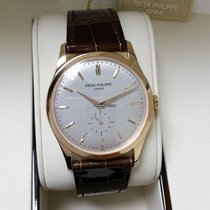 Patek Philippe 5196R Men Calatrava 18K Rose Gold  37mm [NEW]