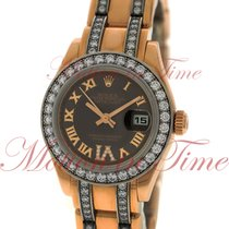 Rolex Datejust Ladies Pearlmaster 29mm, Chocolate Diamond VI...