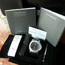 Panerai PAM 000 Luminor Marina Base Model w Logo Dial 44 mm:...