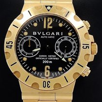 Bulgari Diagono Professional Chronograph in Yellow Gold