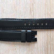 Panerai Black Leather Strap / Folding Clasp Used