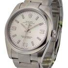 Rolex Used New Style Air King with Silver Arabic Dial