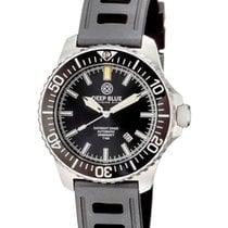 Deep Blue Daynight Diver T100 Auto Tritium Watch Ss Case Hydro...