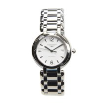 Longines Prima Luna Stainless Steel White Automatic L8.113.4.16.6