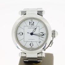 Cartier Pasha Automat Steel (BOX2004) 35mm WhiteArabic Dial