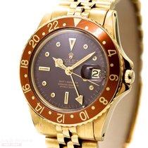 Rolex Vintage GMT-Master Ref-1675 Tiger Eye 18k Yellow Gold...