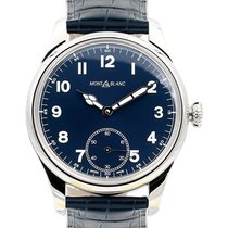 Montblanc 1858 Collection 44 Blue Dial