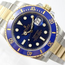 Rolex SUBMARINER DATE BLUE CERAMIC BI-COLOR