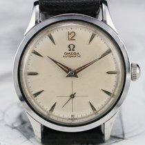 Omega Ref FX 6040 Vintage Watch, CAL 490 Adjusted 2 Pos, 1958