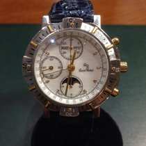Lucien Rochat Chronograph moonphases mother if pearls