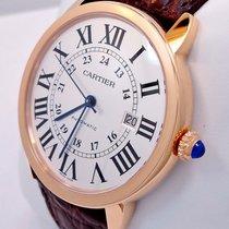 Cartier Ronde Solo Xl 42mm Auto 18k Rose Gold W6701009 Retail...