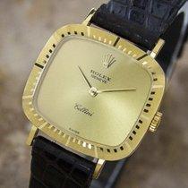 Rolex Cellini 18k Solid Gold Dress Watch Swiss For Women...