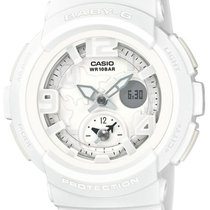 Casio Baby-G Dual World Time - White & Silver - LED with...