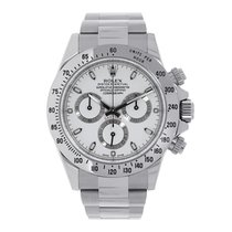 Rolex DAYTONA Stainless Steel White Dial Box/Pap
