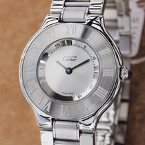 Cartier Must de Cartier 21 Mens 31mm Swiss Made c2000 Luxury...