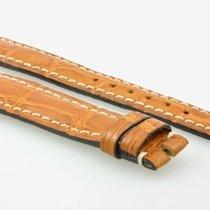 Girard Perregaux Lederarmband Krokoleder hellbraun 16x14mm