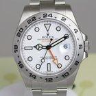 Rolex Explorer ll 42mm white dial - new