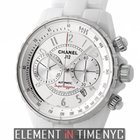 Chanel J12 White Ceramic 41mm Superleggera Chronograph Ref. H3410