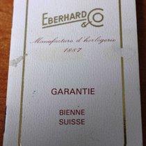 Eberhard & Co. vintage Warranty Certificate Papers