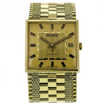 Juvenia Yellow Gold Automatic Gold Dial Unisex Watch 1318816