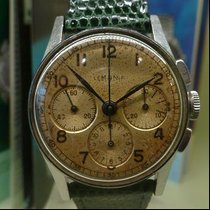Lemania vintage small chronograph ref 2570 lemania 39 mm