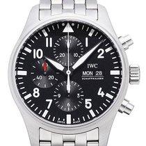 IWC Fliegeruhr Chronograph Edelstahlband IW377710