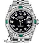 Rolex Women's Rolex Datejust 31mm Stainless Steel Black...