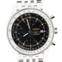 Breitling Navitimer World Chronograph Automatic Stainless Steel