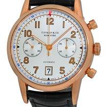 Tiffany & Co. Chronograph Strapwatch.
