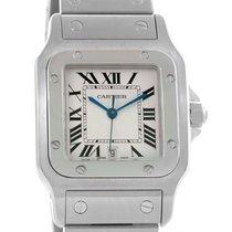 Cartier Santos Galbee Mens Quartz Steel Date Watch W20060d6