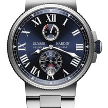 Ulysse Nardin Marine Chronometer Manufacture 45mm 1183-122-7m/43