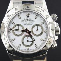 Rolex Daytona Steel, White Dial Full Set 2010, MINT 40MM