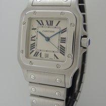 Cartier Santos Galbee 1564 -Stahl -Box+Papiere+Cartier Service...