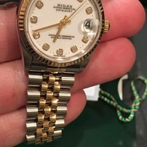 Rolex Midsize 18k/ss Oyster Perpetual Datejust 31mm Saphire...