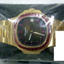 Patek Philippe Nautilus Ruby Bezel Rose Gold - 5723/11R-001