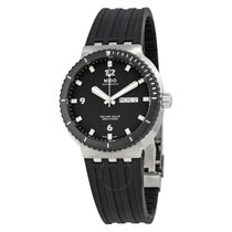 Mido Helium Valve Automatic Black Dial Men's Watch