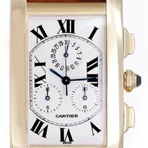 Cartier Tank Americaine (or American) Men's 18k Yellow...