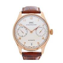 IWC Portuguese 18k Rose Gold Gents IW500113