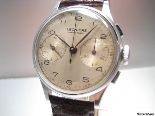 Leonidas Chronograph 2 counters [ON HOLD]