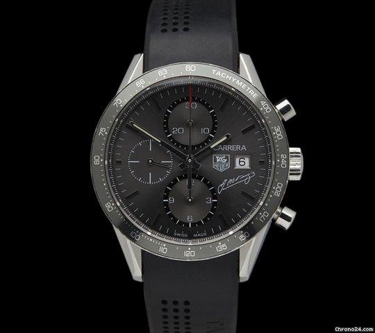 TAG Heuer Carrera Juan Manuel Fangio Ltd Edition Stainless Steel Chronograph
