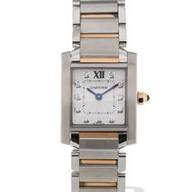 Cartier Tank Francaise Diamond Ladies