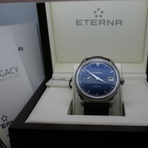 Eterna 1948 Legacy Small Second Manufacture Automatic blue Dial