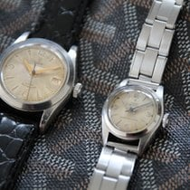 Tudor Rare 1950's matching Oyster his and hers set