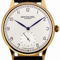 Hentschel Hamburg H1 Chronometer Rose Gold / Bronze, 39.5mm