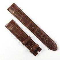 Omega 18 / 16mm Alligator leather strap brown  98000130