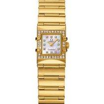 Omega 1136.76 Constellation Quadra in Yellow Gold with Diamond...